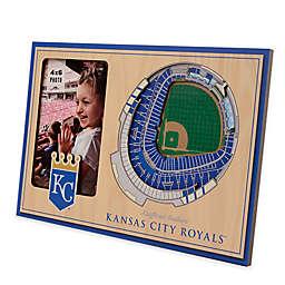 MLB Kansas City Royals 5-Layer StadiumViews 3D Wall Picture Frame