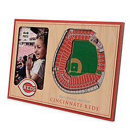 MLB Cincinnati Reds 5-Layer StadiumViews 3D Wall Picture Frame