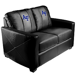 United States Air Force Academy Silver Loveseat