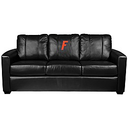 University of Florida Silver Series Block Logo Sofa