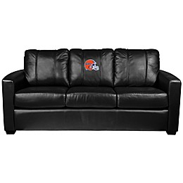 University of Florida Silver Series Helmet Logo Sofa