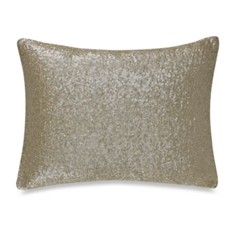 Nicole Miller® Lexington Sequin Oblong Throw Pillow  Bed Bath