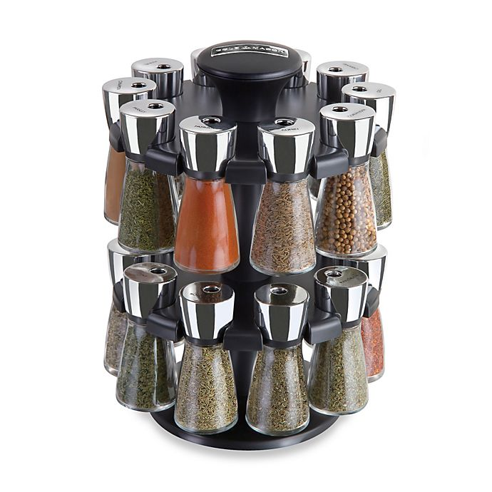 Alternate image 1 for Cole & Mason 20 Jar Spice Rack