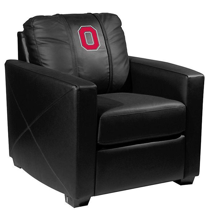 Ohio State University Silver Club Chair With Buckeyes Block O Logo Bed Bath Beyond
