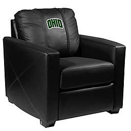 Ohio University Silver Club Chair with Secondary Logo
