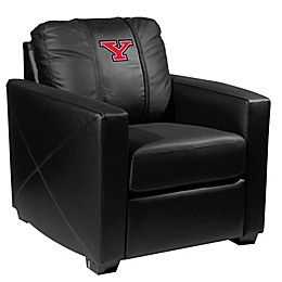 Youngstown State University Silver Club Chair with Secondary Logo