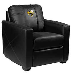 Georgia Tech Silver Club Chair with Buzz Logo