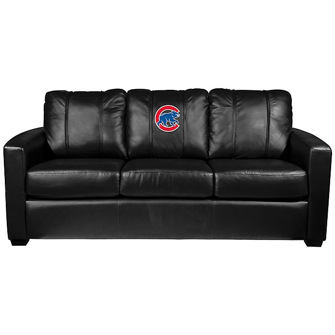 Mlb Chicago Cubs Silver Sofa With Alternate Logo Bed Bath Beyond