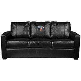 MLB San Francisco Giants Silver Sofa with 2010 World Series Champions Logo