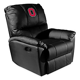 Ohio State University Rocker Recliner with Block O Logo