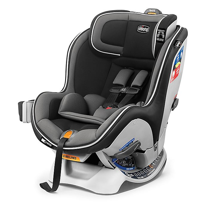 Alternate image 1 for Chicco® NextFit Zip® Convertible Car Seat in Carbon