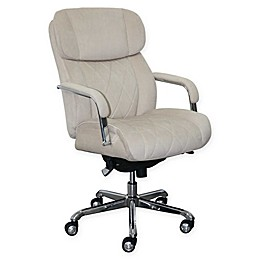 La-z-boy® Faux Leather Swivel Sutherland Office Chair