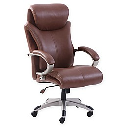 Serta® Faux Leather Swivel Executive Office Chair
