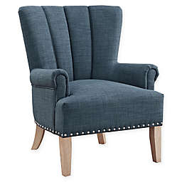 Linen Upholstered Chase Chair