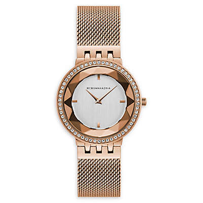 BCBG Maxazria® Women's 35mm BG50670001 Rose Goldtone Watch