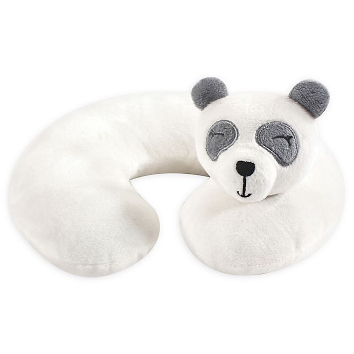 Alternate image 1 for Hudson Baby® Panda Head/Neck Support Pillow in White