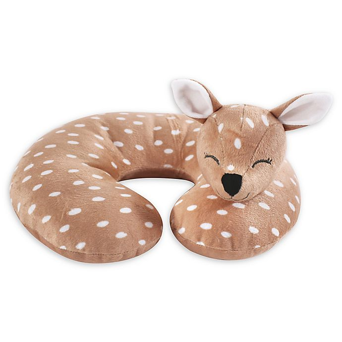 Alternate image 1 for Hudson Baby® Fawn Head/Neck Support Pillow in Brown