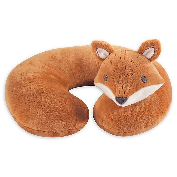 Alternate image 1 for Hudson Baby® Modern Fox Head/Neck Support Pillow in Orange
