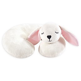 Hudson Baby® Modern Bunny Head/Neck Support Pillow in White