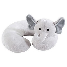Hudson Baby® Grey Elephant Head/Neck Support Pillow