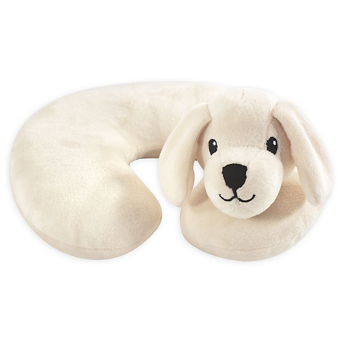 Alternate image 1 for Hudson Baby® Tan Puppy Head/Neck Support Pillow