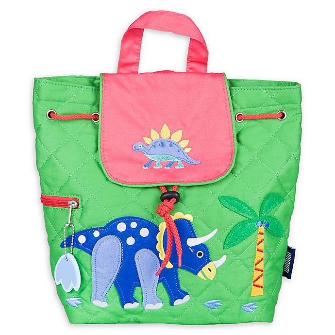 535e716d6574 Wildkin Dinosaur Land Quilted Backpack in Yellow