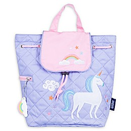 Wildkin Unicorn Quilted Backpack in White