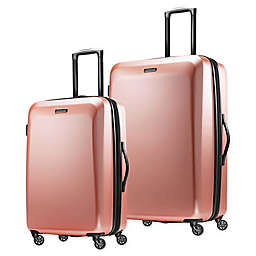 American Tourister® Moonlight Hardside Checked Luggage in Rose Gold