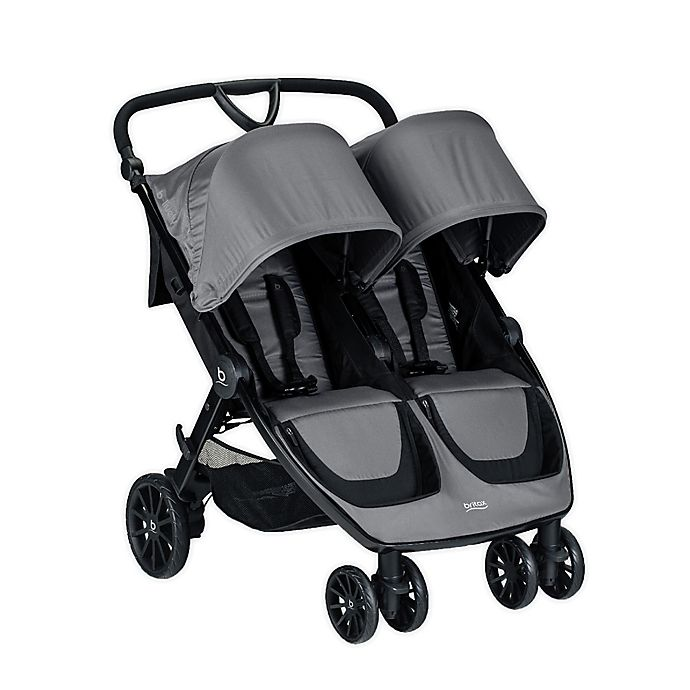 Alternate image 1 for BRITAX® B-Lively Double Stroller in Dove