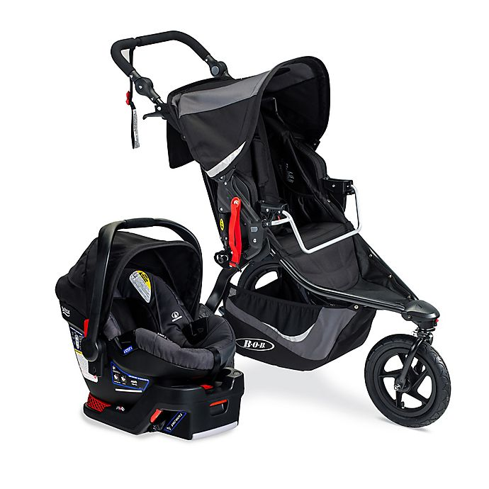 Alternate image 1 for BOB® Revolution® Flex 3.0 Travel System in Graphite/Black
