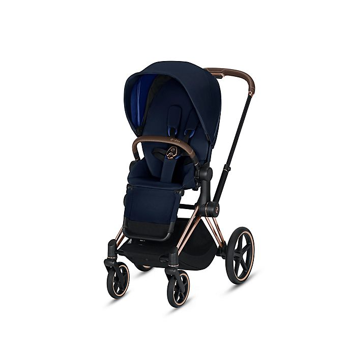 Alternate image 1 for CYBEX Priam Stroller with Rose Gold Frame