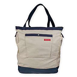 Kabana Kids Beachy Chic Diaper Backpack in Sand/Navy
