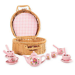 Hey! Play! 17-Piece Porcelain Tea Set