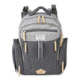Eddie Bauer® Crescent Diaper Backpack in Grey