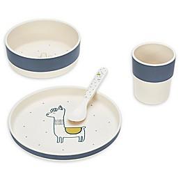 Lassig 4-Piece Glama Llama Tableware Set