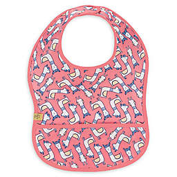 Lassig Glama LLama Lightweight Bib with Pocket