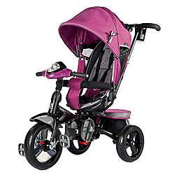 Evezo Maks 4-in-1 Stroller Trike in Pink