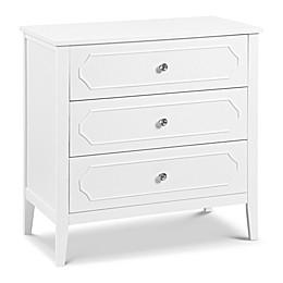 DaVinci Poppy Regency 3-Drawer Changer Dresser in White