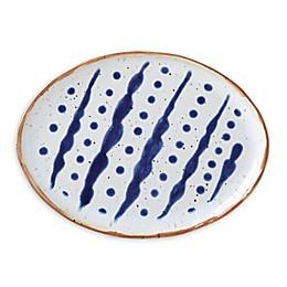 Dansk® Vandvid™ Dotted Lines Salad Plate