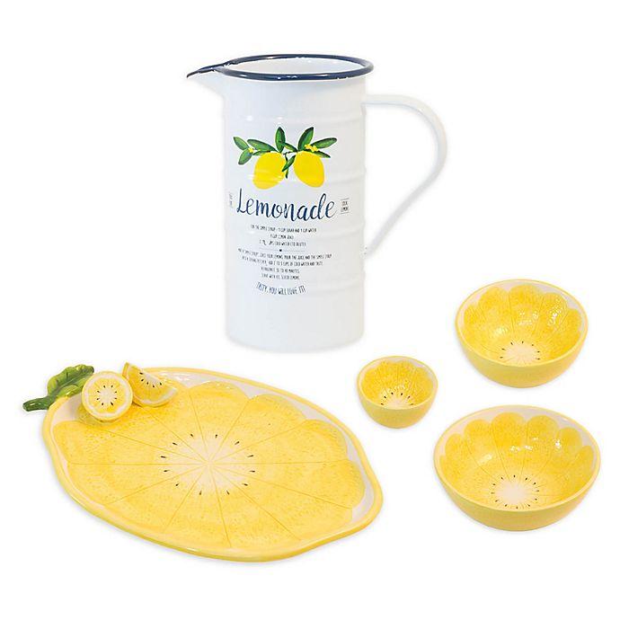 Alternate image 1 for Boston International Lemon Drop Serveware Collection