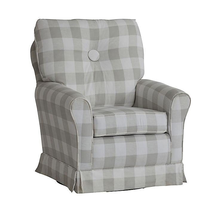 Alternate image 1 for The 1st Chair™ Picnic Swivel Glider Chair in Grey