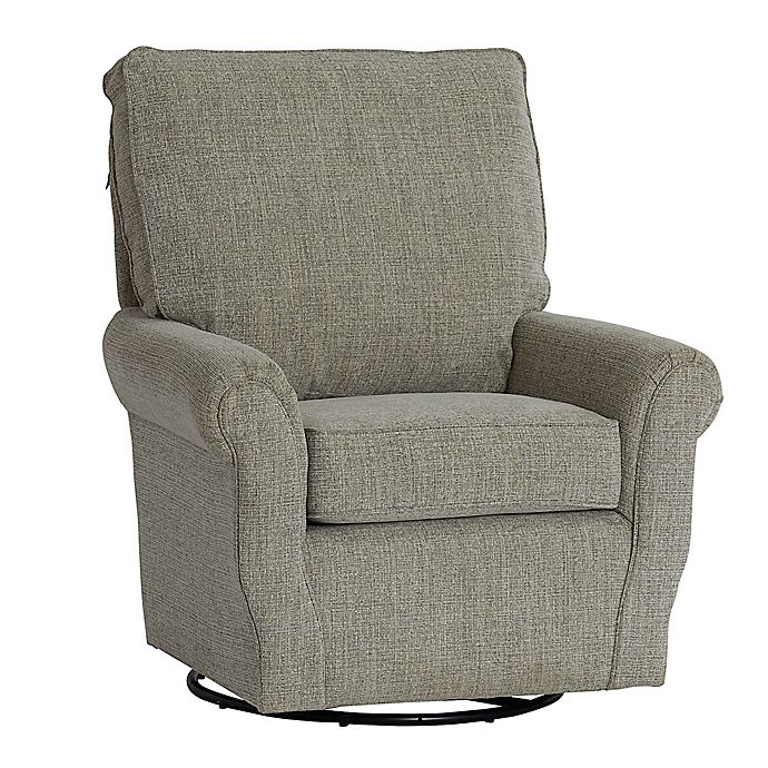 Alternate image 1 for The 1st Chair®; Ella Grace Swivel Glider Chair in Wheat