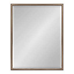 Kate and Laurel 29.5-Inch x 23.5-Inch Blake Rectangular Mirror in Gold