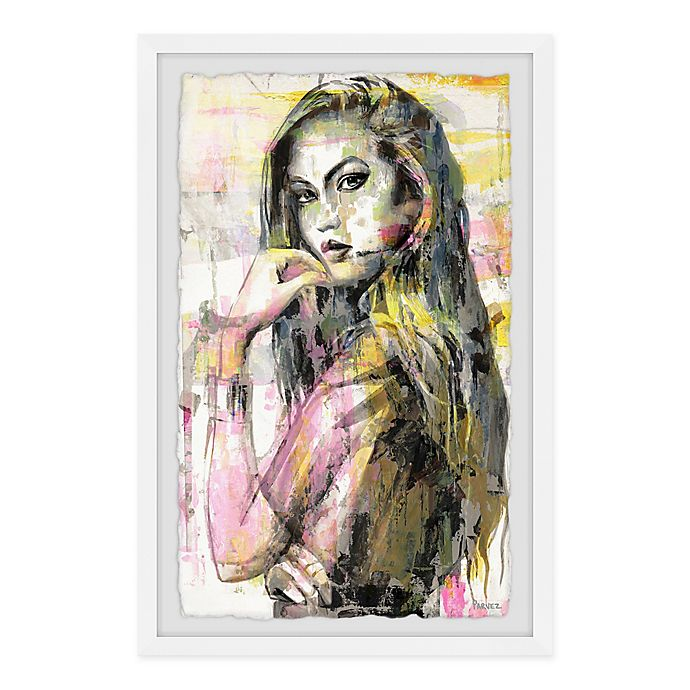 Alternate image 1 for Parvez Taj Girl in Colors 8-Inch x 12-Inch Framed Wall Art