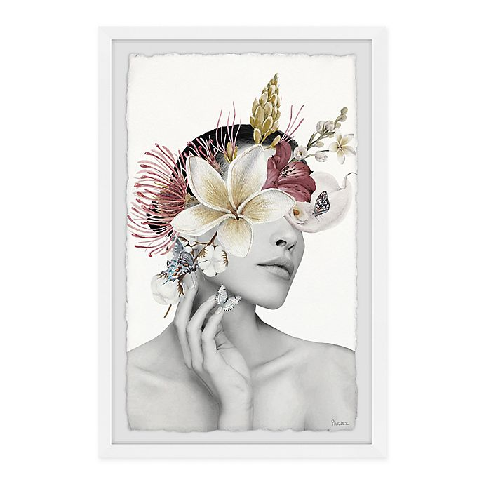 Alternate image 1 for Parvez Taj Classical Bloom 8-Inch x 12-Inch Framed Wall Art