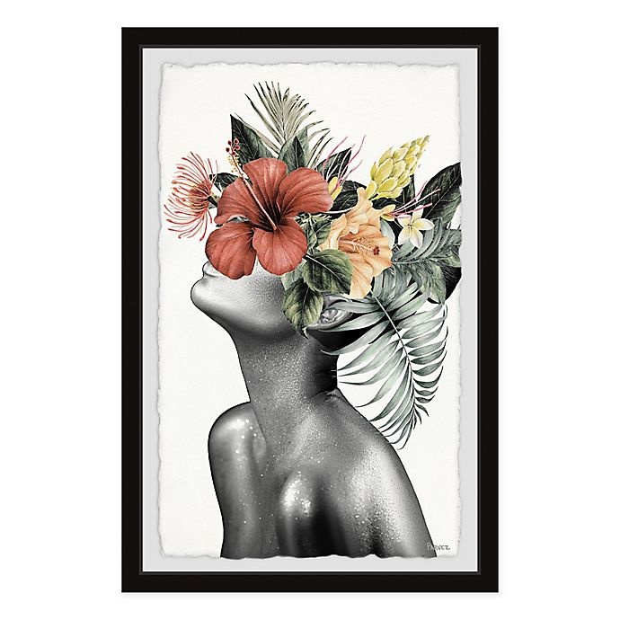 Alternate image 1 for Parvez Taj Tropical Bloom 8-Inch x 12-Inch Framed Wall Art