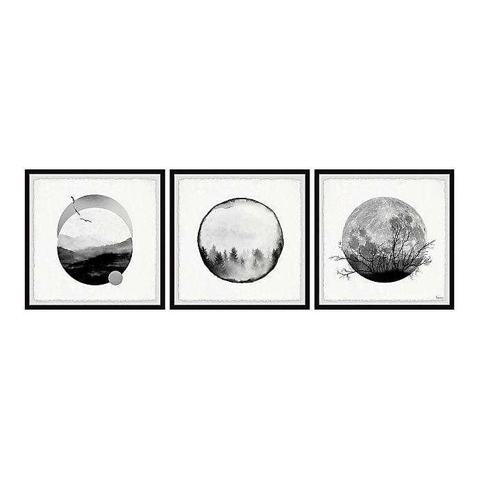 Alternate image 1 for Parvez Taj Forest Moon 72-Inch x 24-Inch Framed Wall Art Set