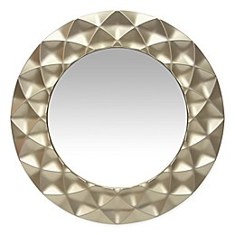 Glam Wall Mirror in Silver