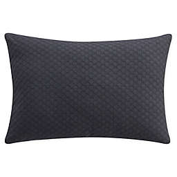 Bridge Street Piper Oblong Throw Pillow in Charcoal