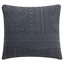 Bridge Street Piper Square Throw Pillow in Blue